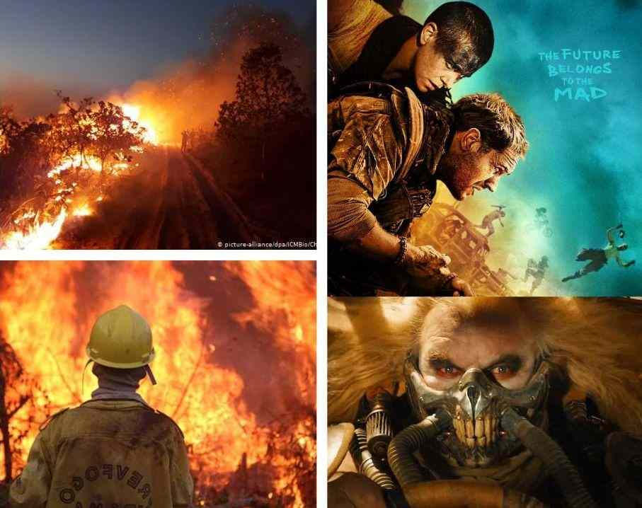 Amazon Wildfire and Mad Max